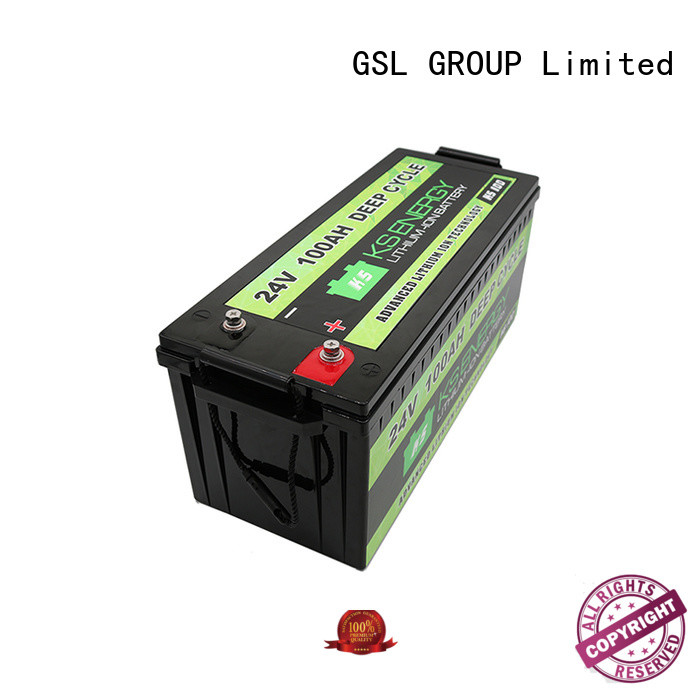 GSL ENERGY environmental-friendly 24V lithium battery supplier for instrumentation