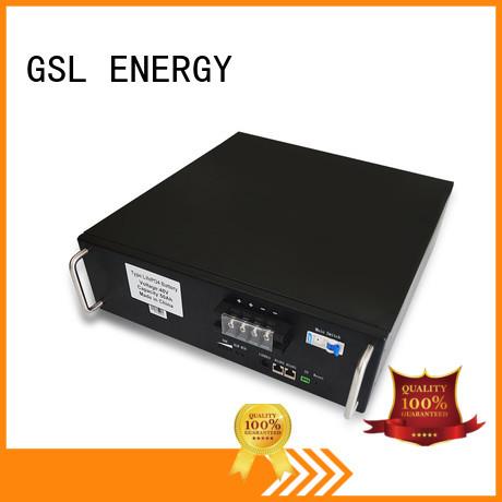 ess battery pack solar lifepo4 GSL ENERGY Brand company