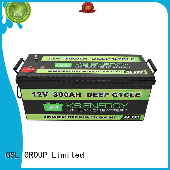 cycle life OEM 12v 50ah lithium battery GSL ENERGY