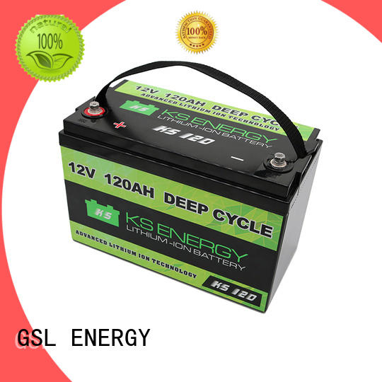lifepo4 12v 50ah lithium battery inquire now for motorcycle GSL ENERGY