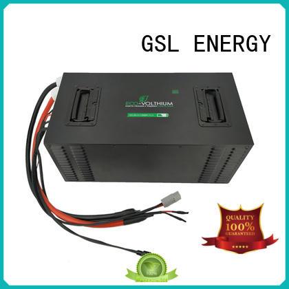 48v golf cart battery deep golf cart battery charger GSL ENERGY Brand