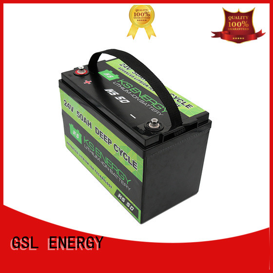 Wholesale pack 24V lithium battery GSL ENERGY Brand