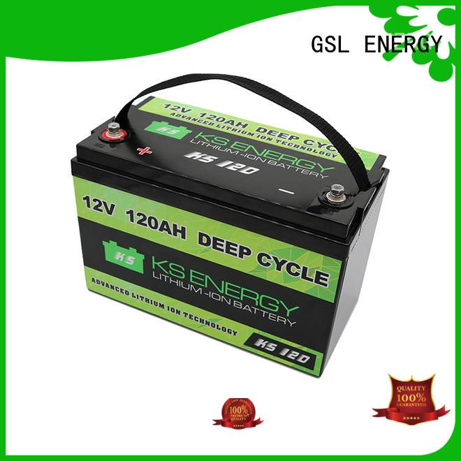 li storage GSL ENERGY Brand 12v 50ah lithium battery