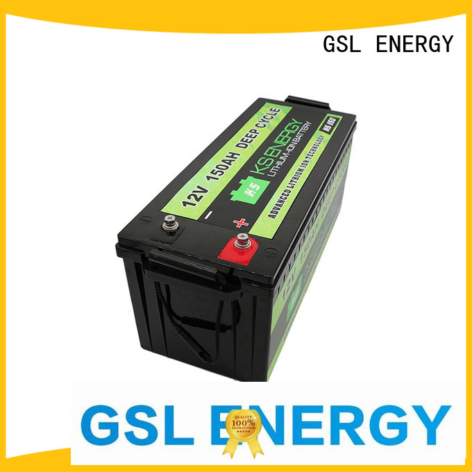 12v 20ah lithium battery motorcycle rv 12v 50ah lithium battery GSL ENERGY Brand