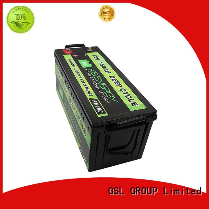 Quality GSL ENERGY Brand 12v 20ah lithium battery marine cycle