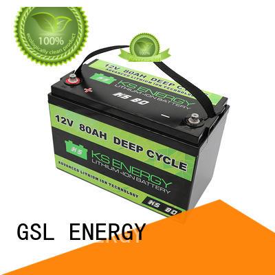 GSL ENERGY Brand rv marine 12v 50ah lithium battery manufacture