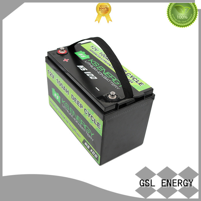 lifepo4 rv battery batteries for cycles GSL ENERGY