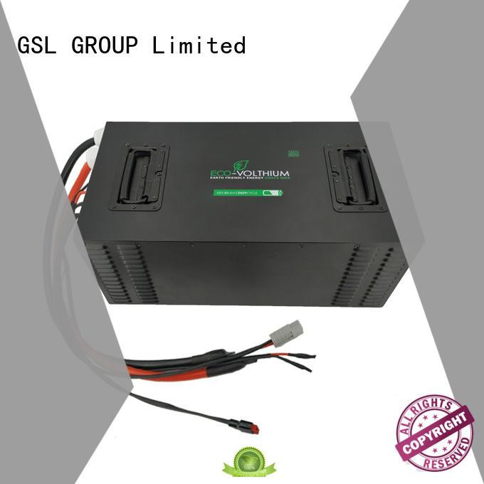 ion life 48v golf cart battery batteries lifepo4 GSL ENERGY Brand