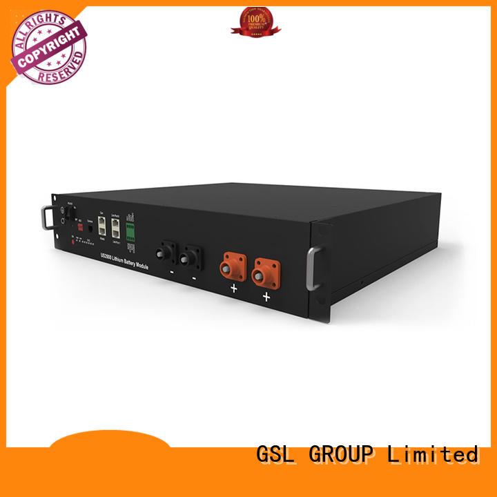 lithium solar telecom battery tower bank GSL ENERGY company