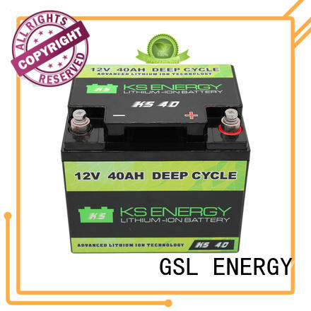 cycle storage capacity OEM 12v 50ah lithium battery GSL ENERGY