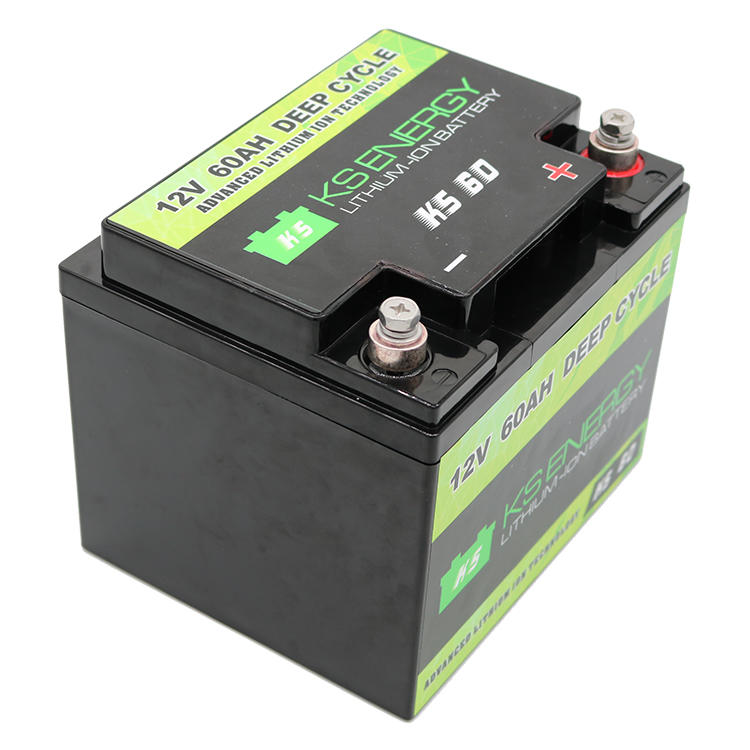 GSL ENERGY-12v 50ah Lithium Battery, 12v 60ah Deep Cycle Lifepo4 Lithium Motorcycle Battery