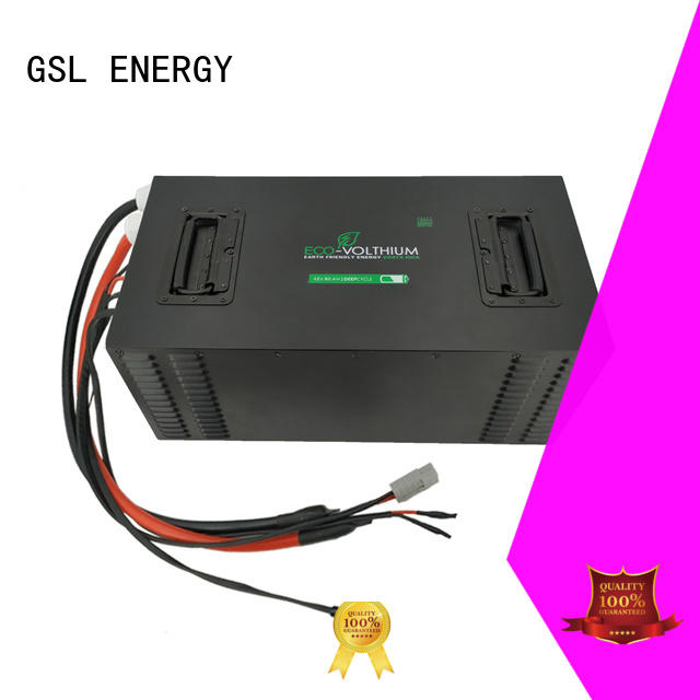wholesale golf cart batteries pack for car GSL ENERGY