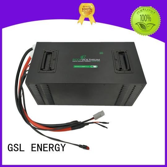 GSL ENERGY Brand lithium cycle custom 48v golf cart battery