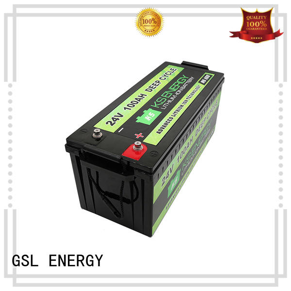 battery lithium bank 24V lithium battery GSL ENERGY Brand