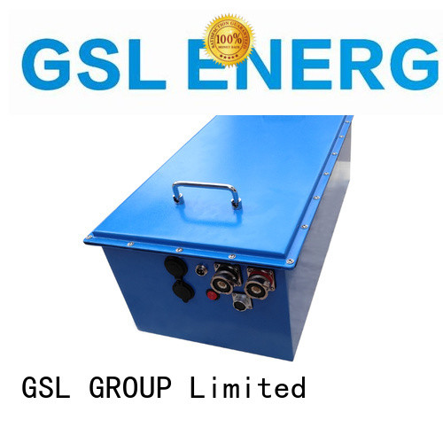 GSL ENERGY professional 48v lithium ion battery 100ah supplier for club