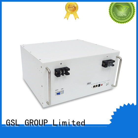 solar lifepo4 battery pack bank for industry GSL ENERGY