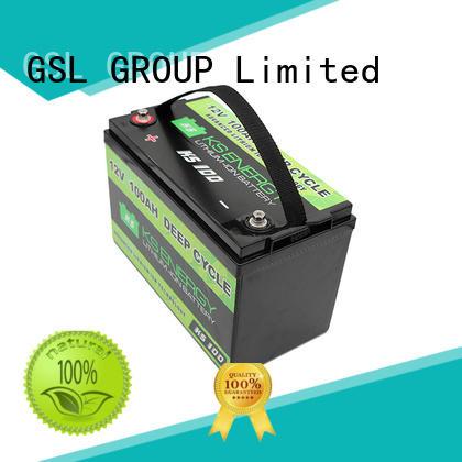 led solar li cycle 12v 20ah lithium battery GSL ENERGY Brand