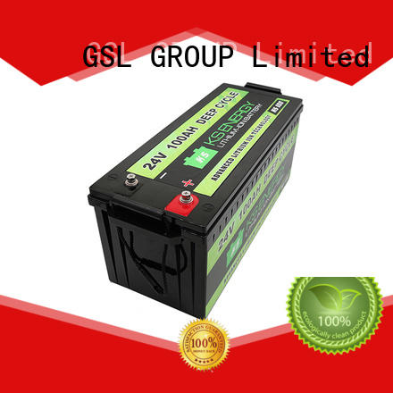 GSL ENERGY rechargeable 24v li ion battery inquire now for medical usage