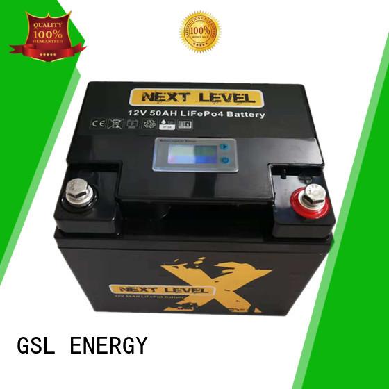 Quality GSL ENERGY Brand li 12v 50ah lithium battery