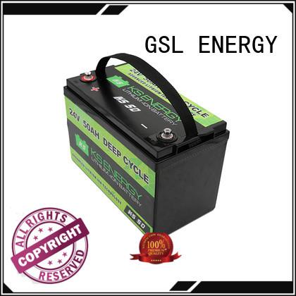 GSL ENERGY Brand ion lifepo4 24v li ion battery lithium