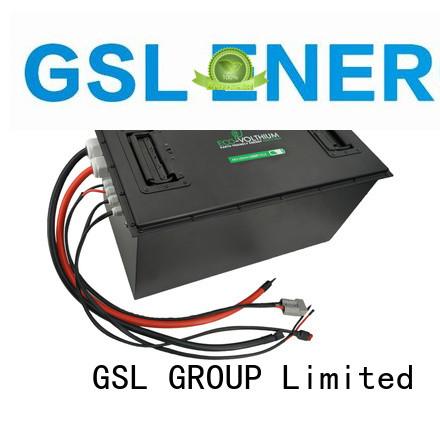 Hot 48v golf cart battery precedent GSL ENERGY Brand