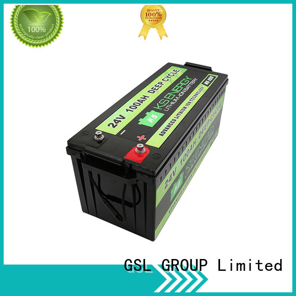 GSL ENERGY Brand lithium pack 24v li ion battery ion supplier