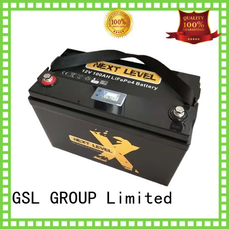 display more 12v 20ah lithium battery caravans camping GSL ENERGY Brand