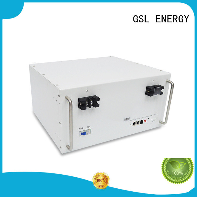 lithium battery bank in telecom tower bulk production for energy storage GSL ENERGY
