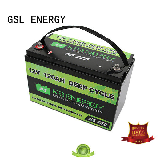 GSL ENERGY 12v 50ah lithium battery industry led display