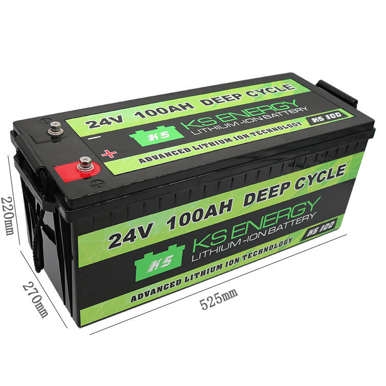 GSL ENERGY-Best 24v Lifepo4 Battery 24v 100ah Lifepo4 Deep Cycle Lithium Ion Battery-1