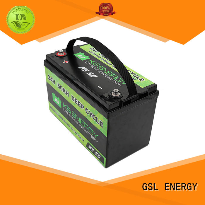 GSL ENERGY lifepo4 24v lithium ion battery for office automation