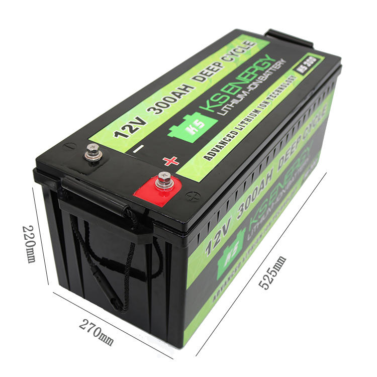GSL ENERGY-12v 300ah Deep Cycle Li Ion Battery For Rv Camping Car Caravans | Lifepo4-1