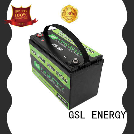GSL ENERGY lifepo4 24V lithium battery at discount for industrial automation