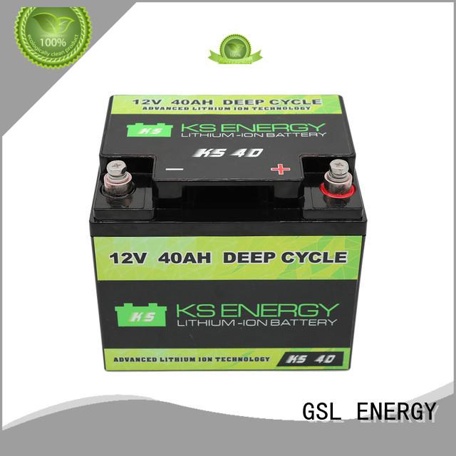 GSL ENERGY Brand caravans lithium li 12v 50ah lithium battery manufacture