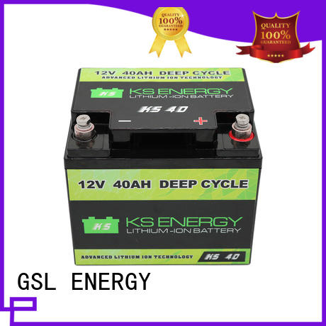 lifepo4 led rechargeable 12v 50ah lithium battery GSL ENERGY Brand