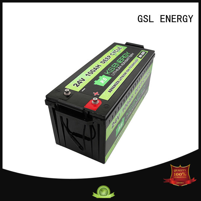 GSL ENERGY lifepo4 24v lifepo4 battery for office automation