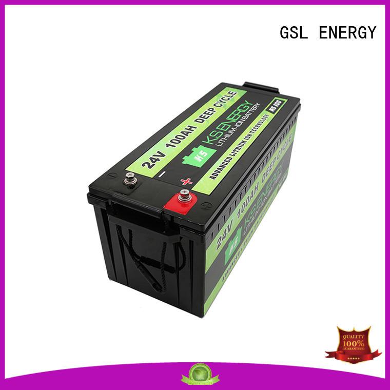 GSL ENERGY solar batterie 24v industry for military