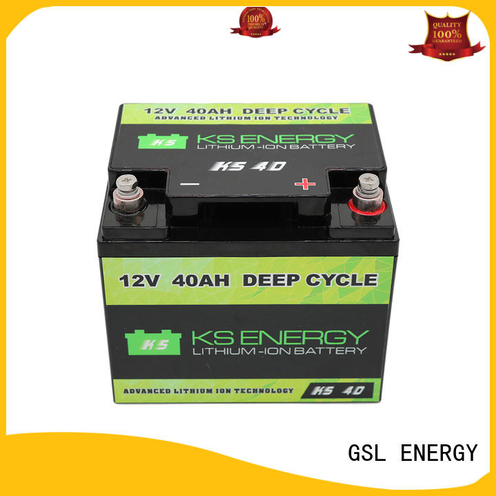 GSL ENERGY storage lithium motorcycle battery for cycles