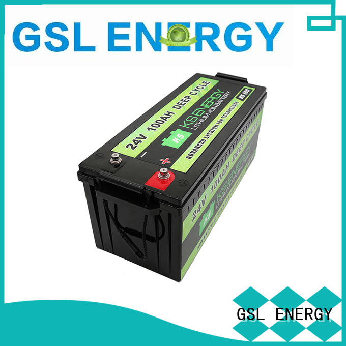 deep cycle lifepo4 batteries for sale free sample for instrumentation GSL ENERGY
