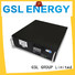 bank ess battery pack lithium GSL ENERGY company