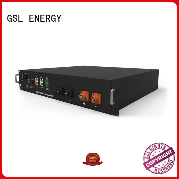 GSL ENERGY pack battery bank solar for industry