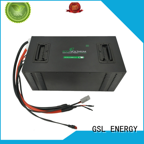 cycle cart golf cart battery charger lithium GSL ENERGY Brand company