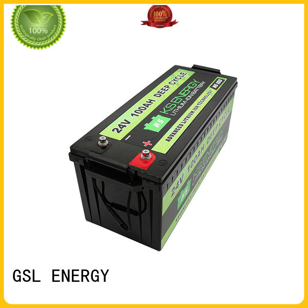 GSL ENERGY environmental-friendly 24V lithium battery inquire now for industrial automation