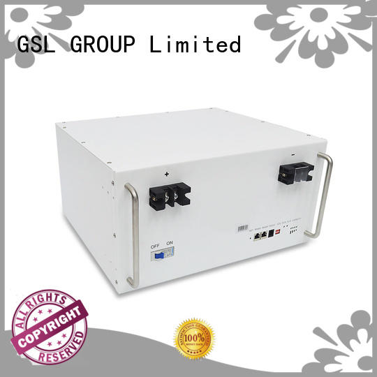 ess battery pack battery bank lifepo4 GSL ENERGY Brand company