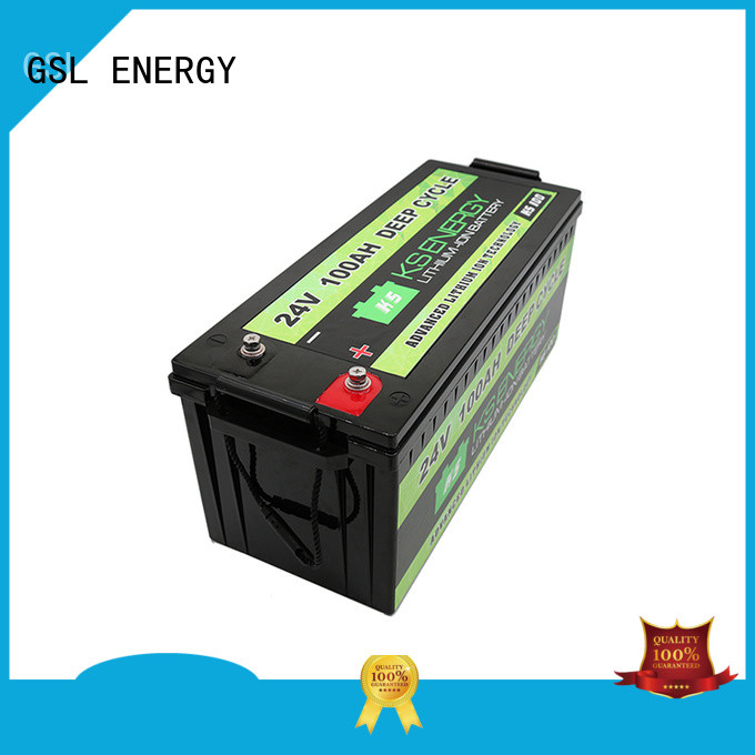 GSL ENERGY rechargeable 24V lithium battery for industrial automation
