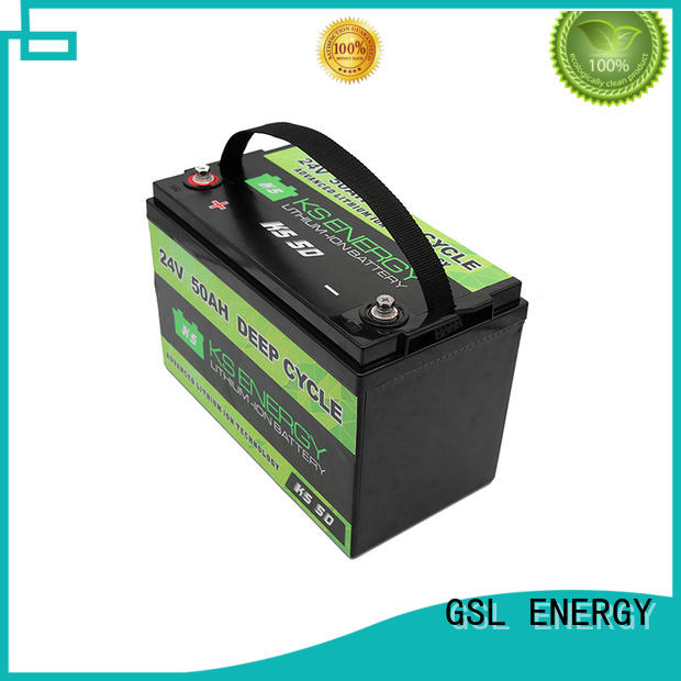 lifepo4 24v lifepo4 battery inquire now for office automation GSL ENERGY