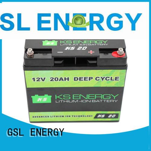Quality GSL ENERGY Brand llithium solar 12v 50ah lithium battery