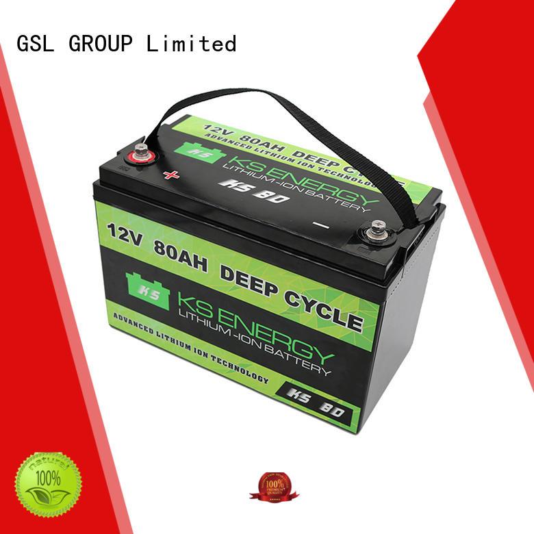 Wholesale ion than 12v 50ah lithium battery GSL ENERGY Brand