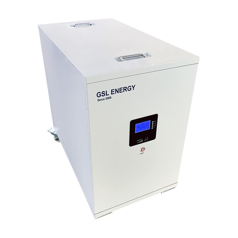 GSL ENERGY Ligero 48V 400Ah 20KWH Diseño de rueda Sistema de batería Lifepo4 Almacenamiento