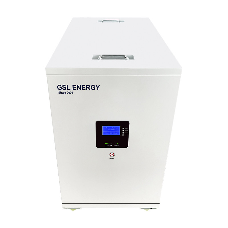 GSL ENERGY Light Weight 48V 400Ah 20KWH Wheel Design Lifepo4 Battery System Storage